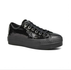 ⭐SALE⭐ NWT Converse All Star Sequin Platform Shoes